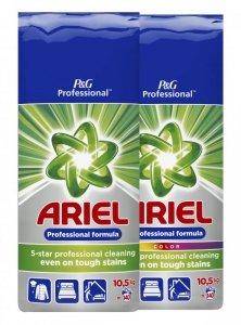 Zestaw ARIEL Proszek do prania Regular 10,5kg + ARIEL Proszek do prania Kolor 10,5kg