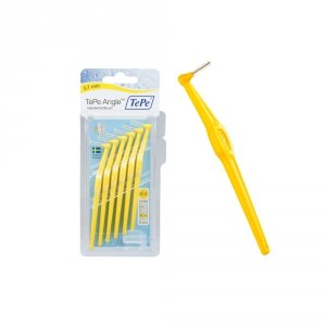 TePe Angle szczoteczka międzyzębowa 0,7 mm żółta, 6 szt., w blistrze