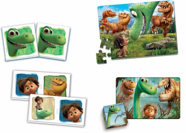 Clementoni EDUKIT 4 w 1 The Good Dinosaur
