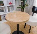 Podkładka okrągła mata obrus serwetka stół biurko 1 mm