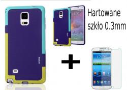Obudowa case Samsung Galaxy Note 4 N9100 N910F N910X + szkło hartowane 0.3mm