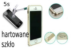 Ramka Bumper case do iPhone 5, 5s ALU czarna