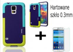 Obudowa Case Samsung Galaxy S5 + szkło hartowane 0.3mm
