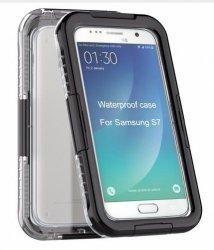 Obudowa czarna etui wodoodporna IP68 Samsung S7 Edge