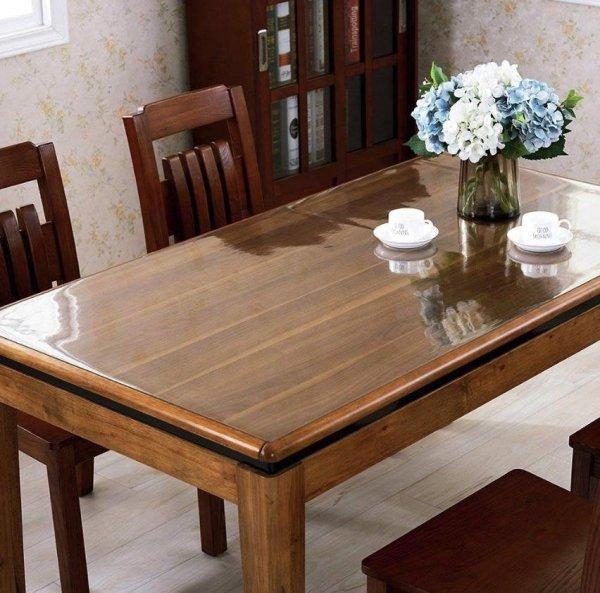 Elastyczna podkładka mata obrus cerata na stół biurko komodę meble jadalnia kuchnia twój wymiar do 140x80