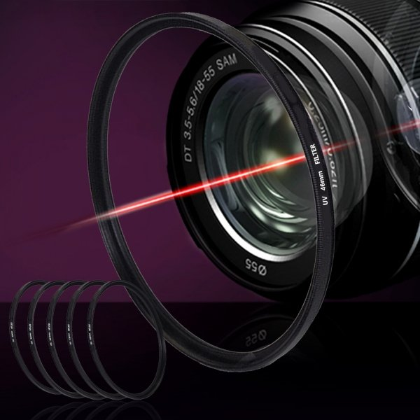 Filtr UV do obiektywów ochrona średnica 58mm