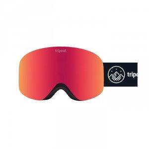 Gogle Tripout Racer Black (orange fire) 2021