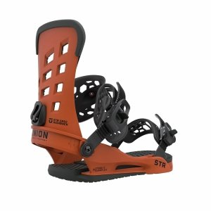 Wiązania snowboardowe Union STR (burnt orange) 2021