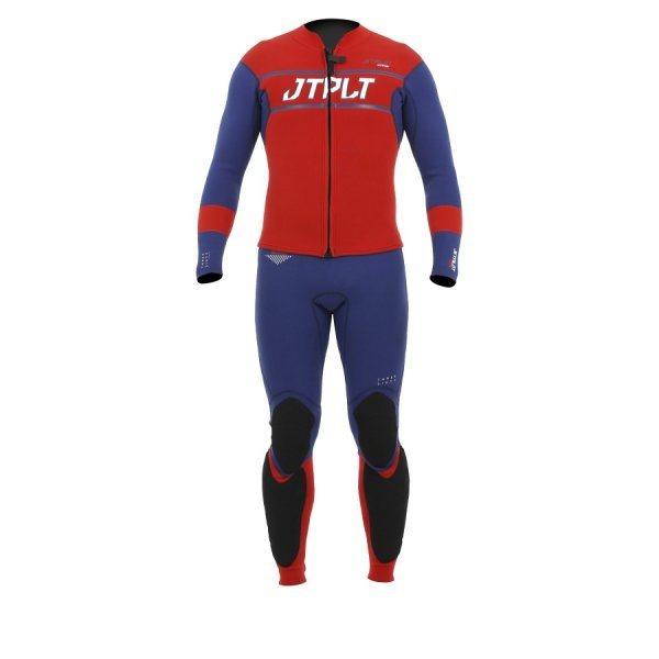 Jetpilot Matrix Race John and Jacket (navy/red) 2019