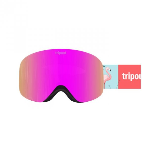 Gogle Tripout Racer Flamingo (pinky) 2020