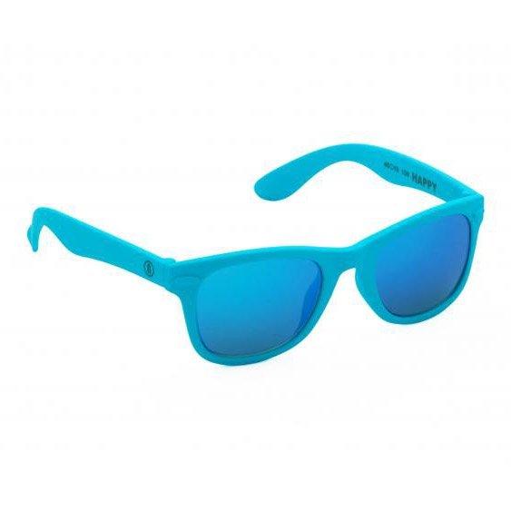 Neon Happy (cyan fluo/blue)
