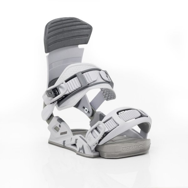 Wiązania snowboardowe Drake Reload (grey) 2020