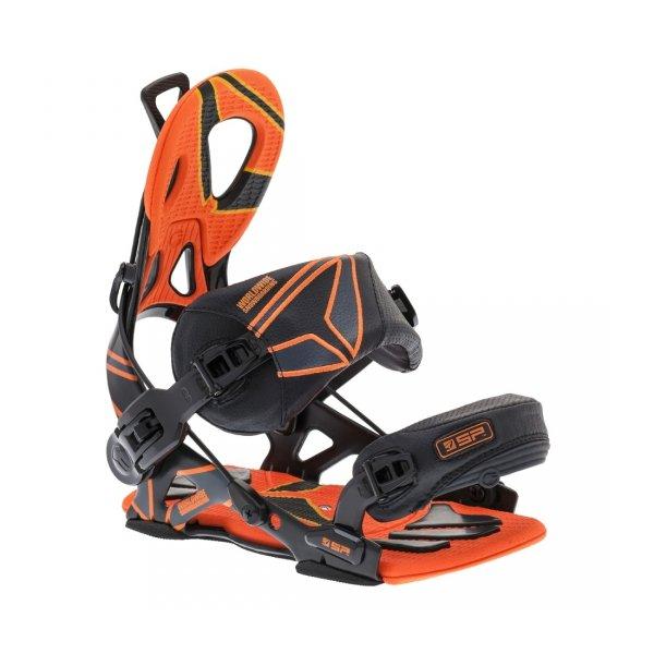 Wiązania snowboardowe SP Fastec Core (black/orange) 2014