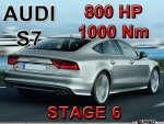 Audi S7 STAGE 6 - 800 HP / 1000 Nm PAKIET MOC