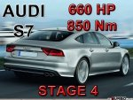 Audi S7 STAGE 4 - 660 HP / 850 Nm PAKIET MOC
