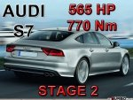 Audi S7 STAGE 2 - 565 HP / 770 Nm PAKIET MOCY