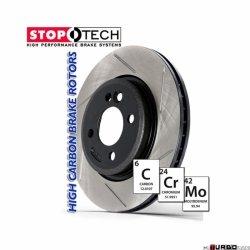 StopTech 126 Hi-Carbon Slotted tarcza hamulcowa BMW 126.34077SR