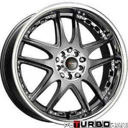 Drag Wheels DR14 Gun Metal 18x7,5 4x100/114,3 ET42