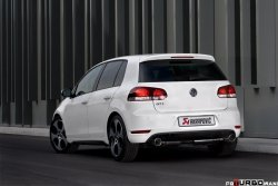 AKRAPOVIC Fitting kit Volkswagen Golf (VI) GTD 2009-2012