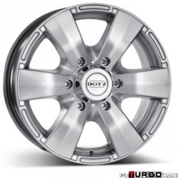 Dotz 4x4 Luxor High gloss 7x16