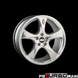 BBS AI SUV-Line 10x20 5x120 ET35 Polished / Brilliant Silver