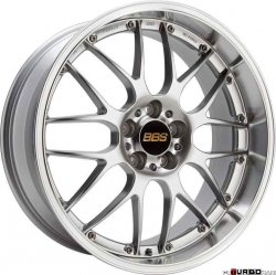 BBS RS-GT Performance Line 9,5x18 5x120 ET40 Polished Silver