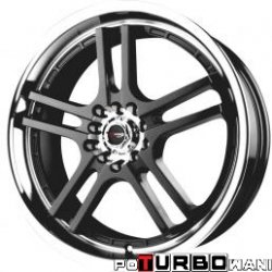 Drag Wheels DR12 7,5x18 4x100-114,3 ET42 otw. 73