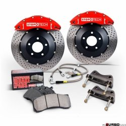 Stoptech Performance Big Brake Kit BBK 2PC ROTOR, FRONT AUD A4 2.0T B7 332X32ST40