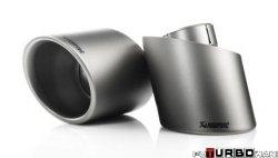 AKRAPOVIC Tail pipe set (Titanium) BMW M5 (F10) 2011-2014