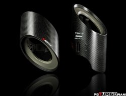 AKRAPOVIC Tail pipe set (Carbon, fits on stock exhaust)  BMW X6 (E71) 2008-2013