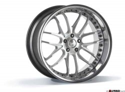 Breyton RACE GTR 9,0x21 5x120 Hyper Silver with stainless steel lip