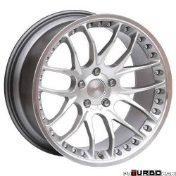 Breyton RACE GTP 10,5x21 5x120 Hyper Silver with diamond polished lip