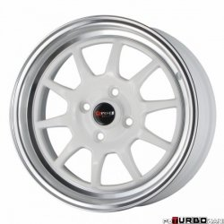Drag Wheels DR16 White 15x7 4x100 ET40