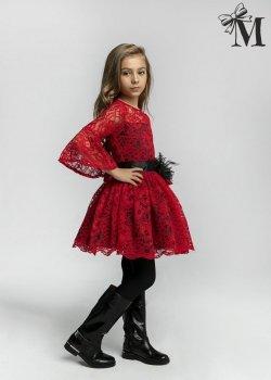 Sukienka 1709 - Czerwona