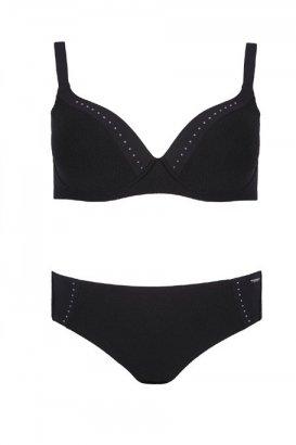 Kostium kąpielowy SELF S940AG6 Czarny R: