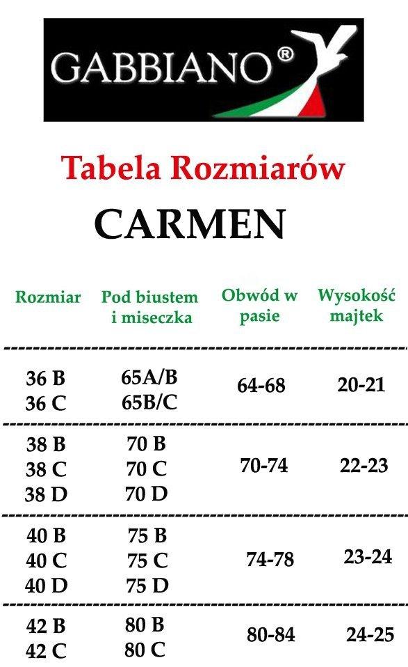HIT 2017 GABBIANO Kostium Carmen Czarny R: