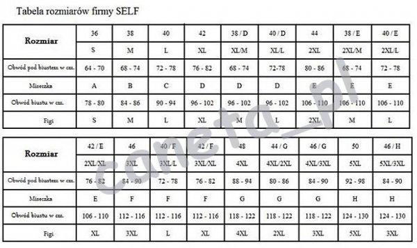 SELF Kostium kąpielowy 115WQ17 v1 Fiszbina R: