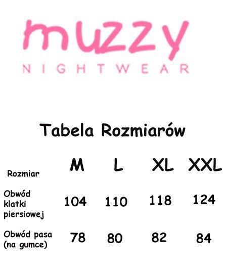 MUZZY! MĘSKA Bawełniana Piżama TYGRYS Dł. R: