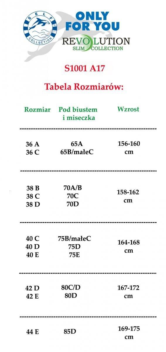 KORONKOWY Kostium kąpielowy SELF 1001 A17 R: