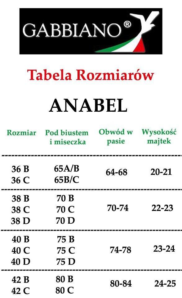 GABBIANO ! Kostium ANABEL v02 Ostry Róż R: