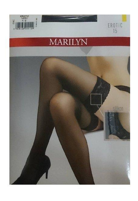 Pończochy Samonośne MARILYN EROTIC Czarny R: