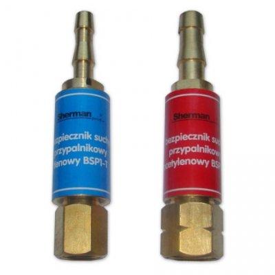 Bezpiecznik gazowy przypalnikowy - tlen