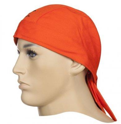 WELDAS-Fire Fox chusta pomarańczowa trudnopalna bawełna