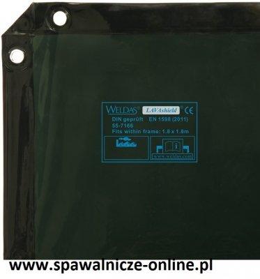 EKRAN SPAWALNICZY 1,74X1,74 m (55-7166)