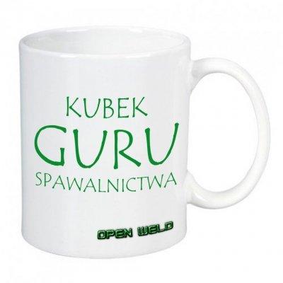 Kubek ceramiczny biały - GURU