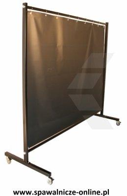 Parawan spawalniczy REGULAR z kurtynami zbrojonymi 2150x1900 mm (szer. x wys.)