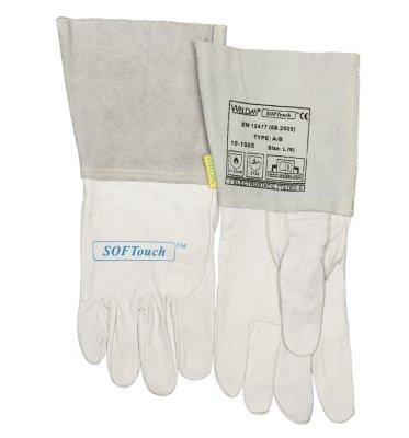WELDAS-rękawica spawalnicza TIG ze skóry cielęcej 10-1005 XL