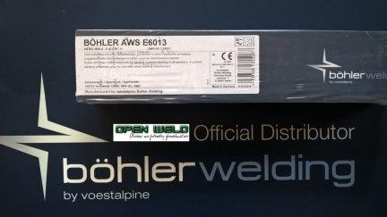 ELEKTRODA BOHLER AWS 6013 2,5x350 (5 kg.)