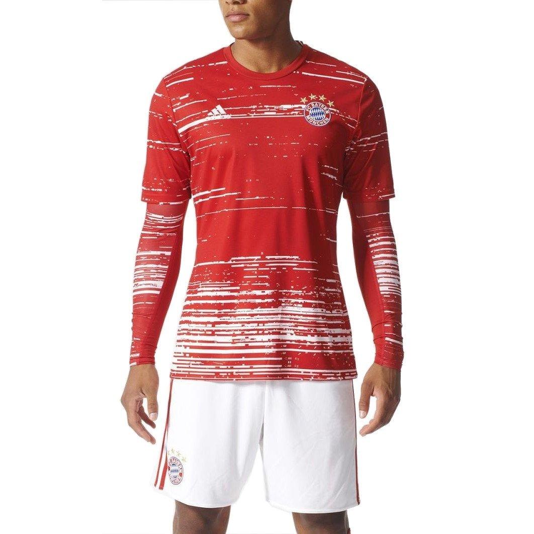 ADIDAS KOSZULKA TECHFIT FC BAYERN MONACHIUM LONG SLEEVE AY8675
