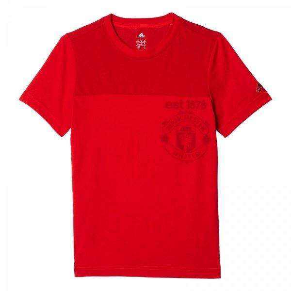 ADIDAS T-SHIRT MANCHESTER UNITED YB FC MUFC TEE AY6819